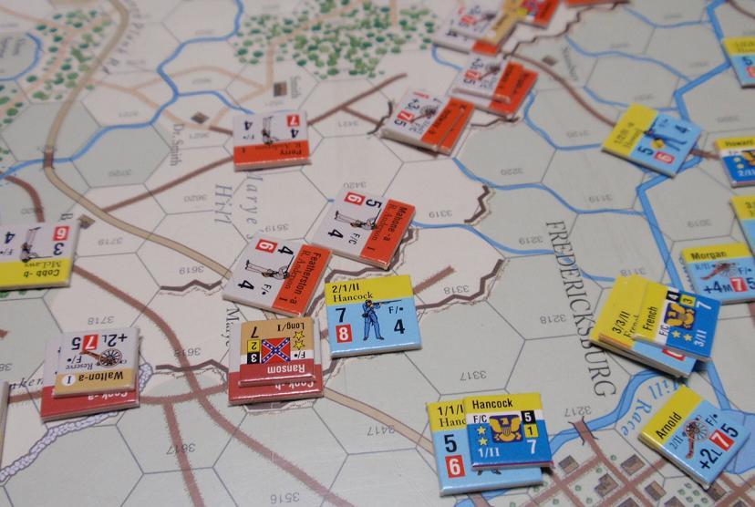 GMT「Across the Rappahannock」より「フレデリックスバーグの戦い」をソロプレイ③_b0162202_18302039.jpg