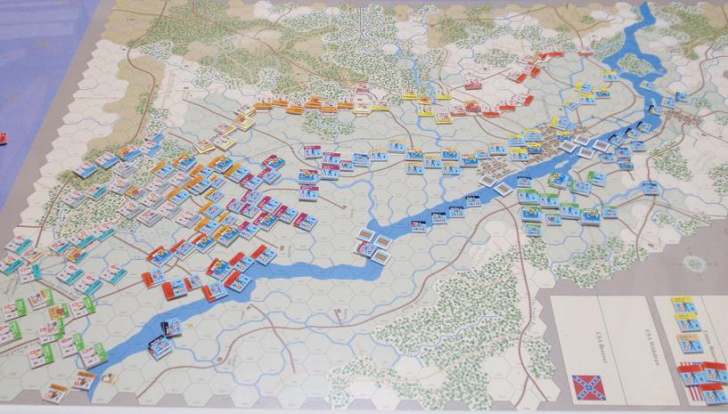 GMT「Across the Rappahannock」より「フレデリックスバーグの戦い」をソロプレイ③_b0162202_18305019.jpg