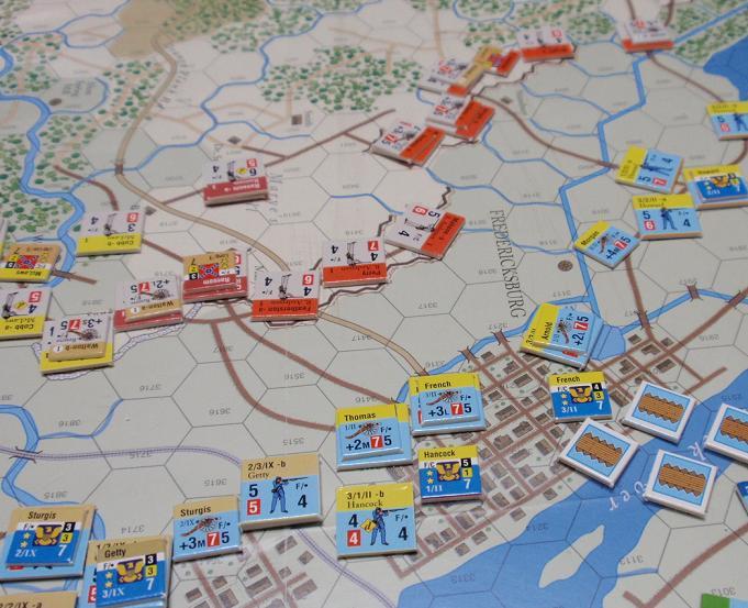 GMT「Across the Rappahannock」より「フレデリックスバーグの戦い」をソロプレイ③_b0162202_1831977.jpg