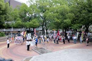 「岡山デモ~放射能汚染のない日々を希望する行進~」に参加しました。_d0155415_1352556.jpg