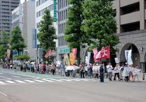 「岡山デモ~放射能汚染のない日々を希望する行進~」に参加しました。_d0155415_137515.jpg