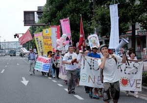 「岡山デモ~放射能汚染のない日々を希望する行進~」に参加しました。_d0155415_137931.jpg