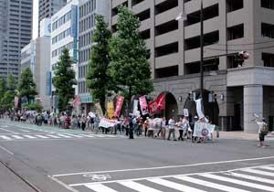 「岡山デモ~放射能汚染のない日々を希望する行進~」に参加しました。_d0155415_138473.jpg
