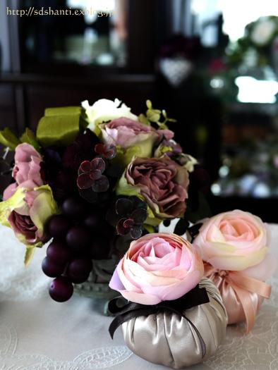 「花で彩るティータイム」の準備_a0169924_1014263.jpg