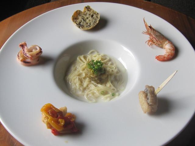 8月の料理「カペッリーニ」_d0177560_18515977.jpg