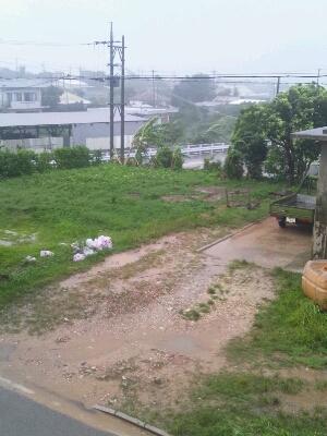台風9号_e0131462_17373259.jpg
