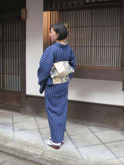 近江ちぢみの着物_c0224085_1201259.jpg