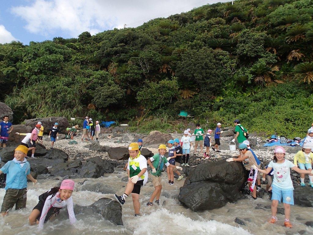 7/31 名瀬海域ウミガメ調査_a0010095_16244648.jpg