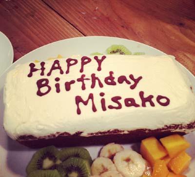 キャロットケーキ お誕生日バージョン_f0235809_0394626.jpg