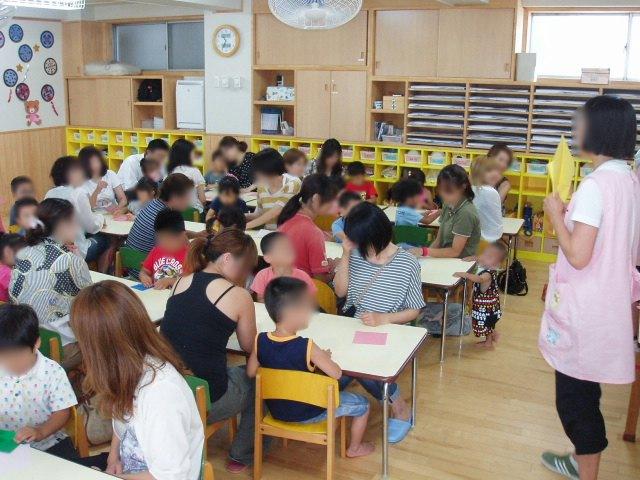 きい組 保育参観と給食懇談会_e0148419_9514515.jpg