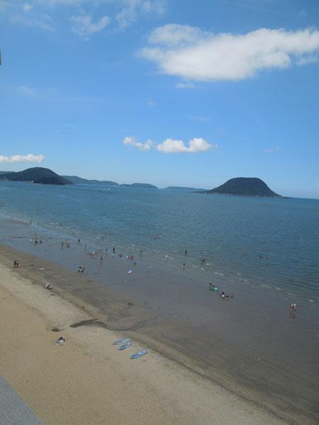 a la picine et a la plage de KARATSU_a0262845_1323365.jpg