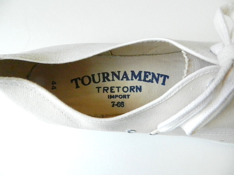 German army tretorn sneaker dead stock_f0226051_12492190.jpg
