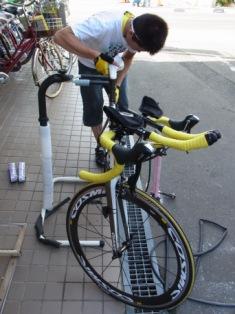 ビアンキ CIELOの タイヤ交換、 東京から仙台へ_e0140354_2216316.jpg