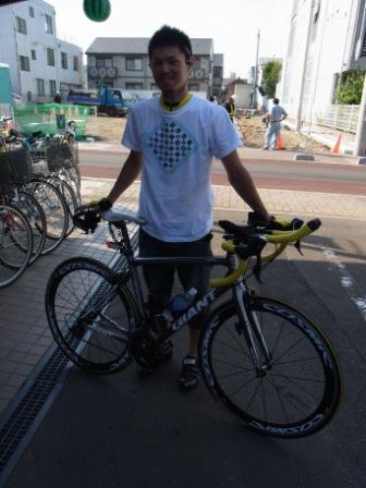 ビアンキ CIELOの タイヤ交換、 東京から仙台へ_e0140354_2216574.jpg