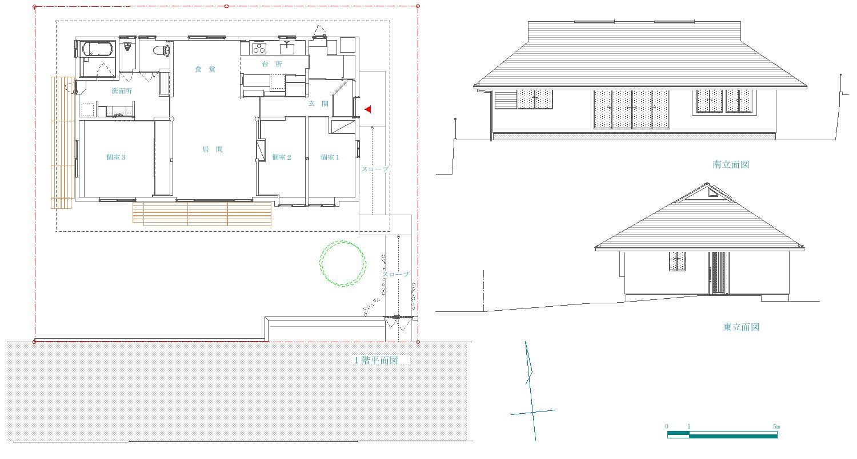 「聖蹟桜ヶ丘の家」 site & plan_f0230666_14521732.jpg