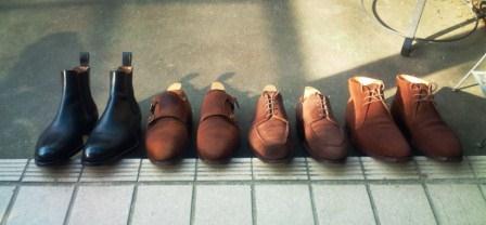 「日陰干し 革靴」の画像検索結果