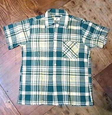 8/4(土)入荷!50'S ボックスシルエット オープンカラーシャツ!_c0144020_1484517.jpg