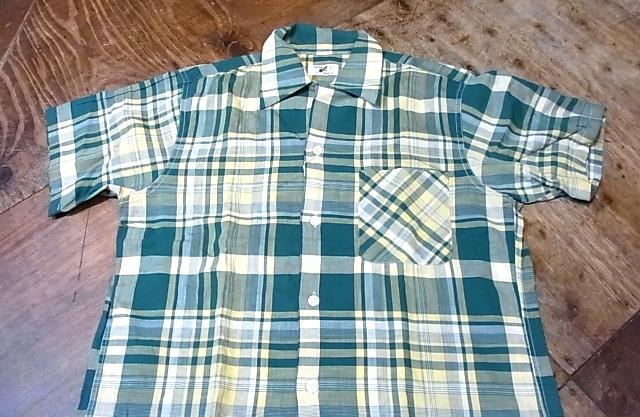 8/4(土)入荷!50'S ボックスシルエット オープンカラーシャツ!_c0144020_1484863.jpg