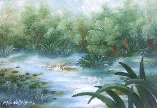 水辺の油絵_b0089338_10374631.jpg