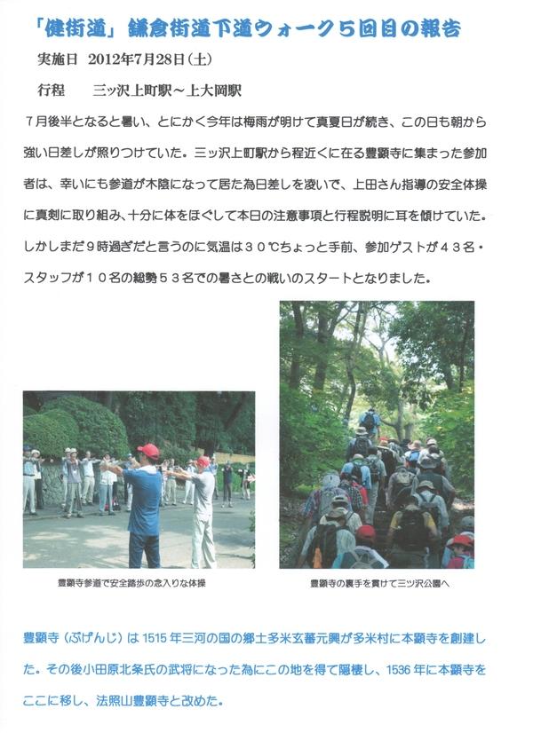 鎌倉街道下道ウォーク5回目活動報告_a0215849_1031959.jpg