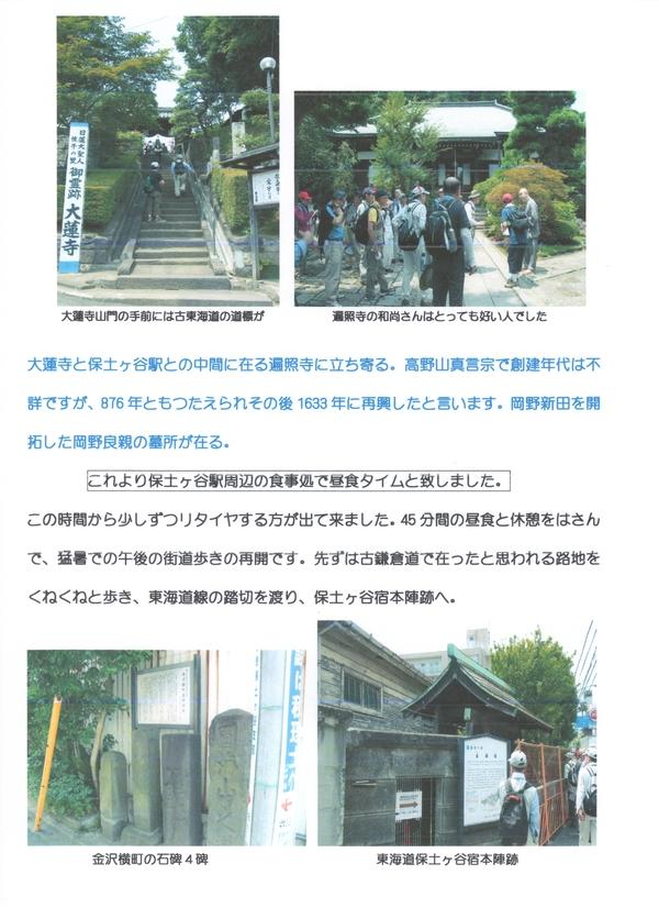 鎌倉街道下道ウォーク5回目活動報告_a0215849_107756.jpg