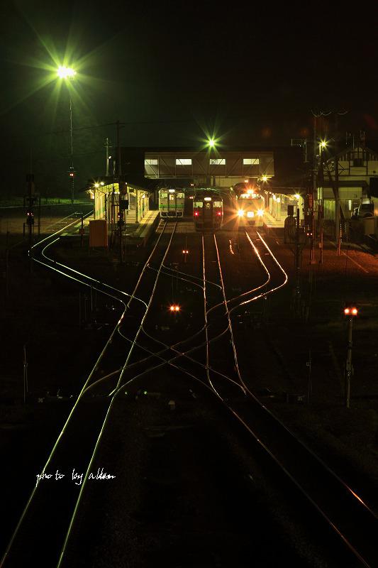 夜の鉄道あんどサロマロマンより~_a0039860_19152637.jpg