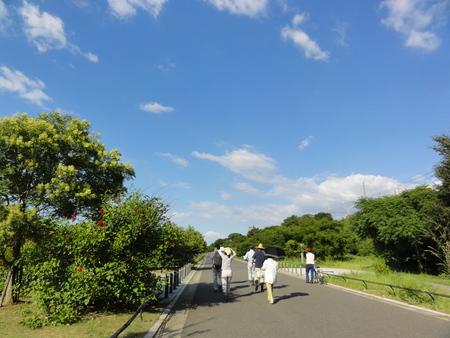 カニの道作り現場検証 in せんなん里海公園_c0108460_1334472.jpg