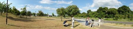 カニの道作り現場検証 in せんなん里海公園_c0108460_1362411.jpg