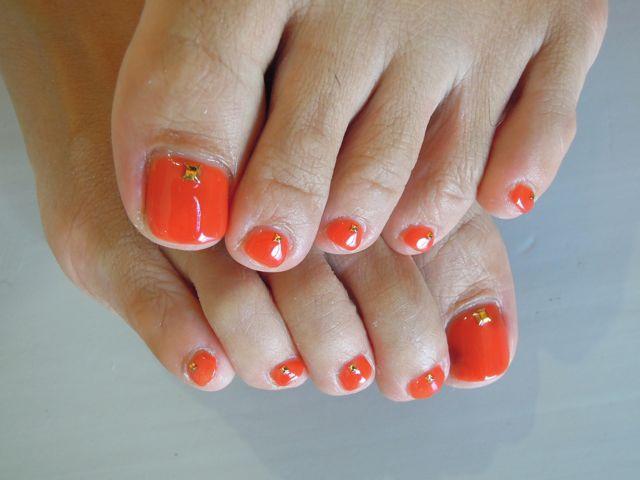 Orange Nail_a0239065_9461924.jpg