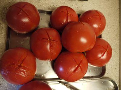 自家製のトマトの水煮_f0134268_18432992.jpg