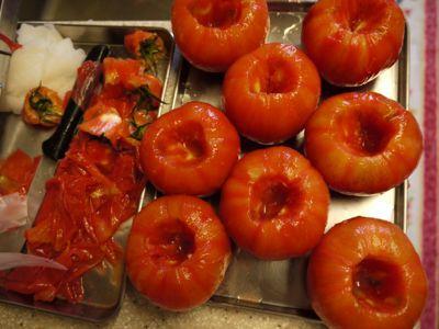 自家製のトマトの水煮_f0134268_18433036.jpg