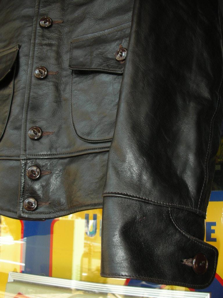 HIMEL BROTHERS LEATHER HERON1929 CUSTOMRM ORDER 2着完成!!_c0187684_14312928.jpg