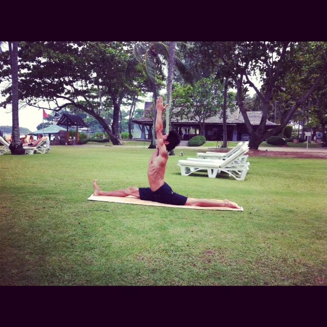 8月3日 Ashtanga yoga‼_d0171384_17153427.jpg