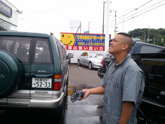 K様、アルファードご成約!!ウッチーブログ!!_b0127002_2054045.jpg