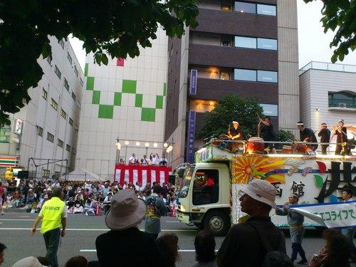 函館港まつり、ワッショイはこだて五稜郭パレード_b0106766_0575441.jpg