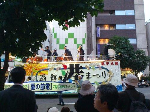 函館港まつり、ワッショイはこだて五稜郭パレード_b0106766_0575591.jpg