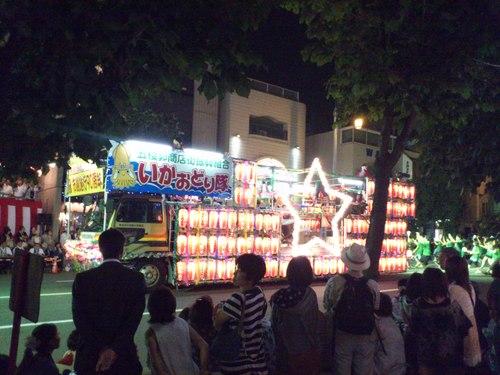 函館港まつり、いか踊り_b0106766_12429.jpg