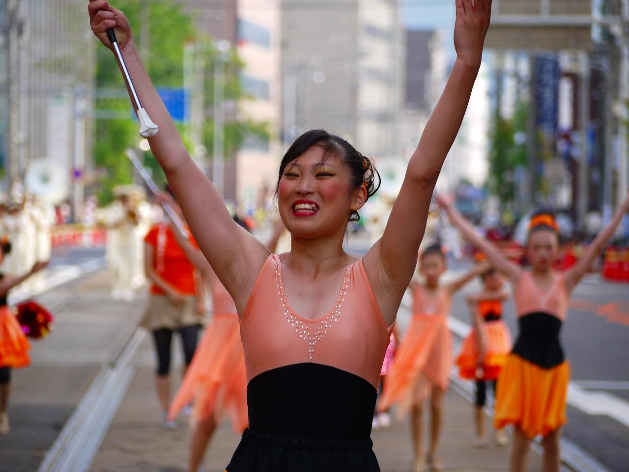 バトンパレード投稿画像606枚&女子小学生パレード盗撮