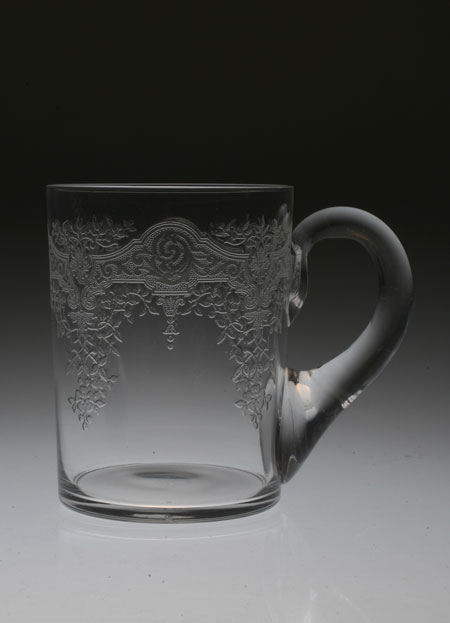 """Baccarat \""""Medieis\"""" CUP with Hundle_c0108595_53667.jpg"""