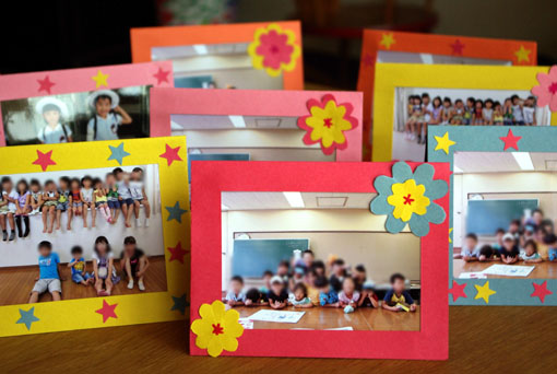 フォトフレーム : 子供と一緒に手作り生活