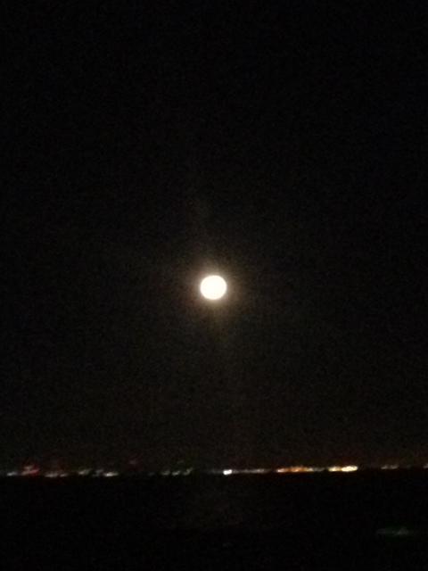 花火と満月_c0172504_13275745.jpg