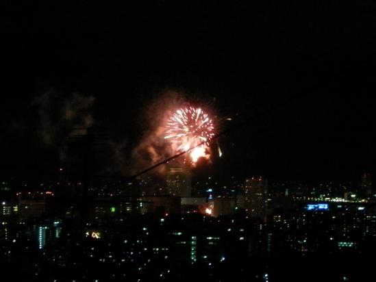 「夏の終わり」の花火大会で☆_a0125419_2181671.jpg
