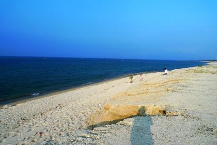 iwasaki・夏の山陰修学(!?)旅行・弓ヶ浜→米子城跡。_f0177373_1001827.jpg