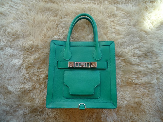 PROENZA SCHOULER PS11 TOTE SMALL EMERALD:SORRY,SOLD OUT!_f0111683_1424369.jpg