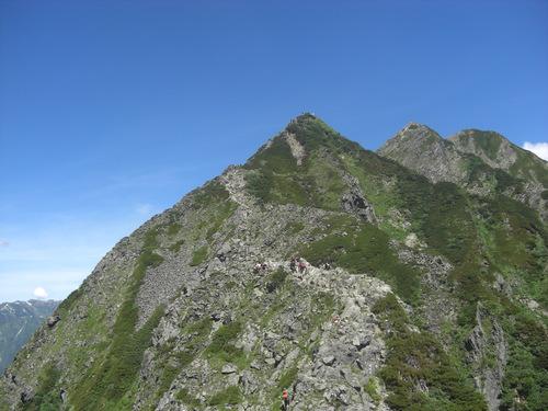 西穂高岳 写真_d0151699_21142889.jpg