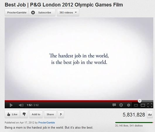 """アメリカで注目される感動のオリンピック関連CM、P&Gの\""""Best Job\""""_b0007805_1192674.jpg"""