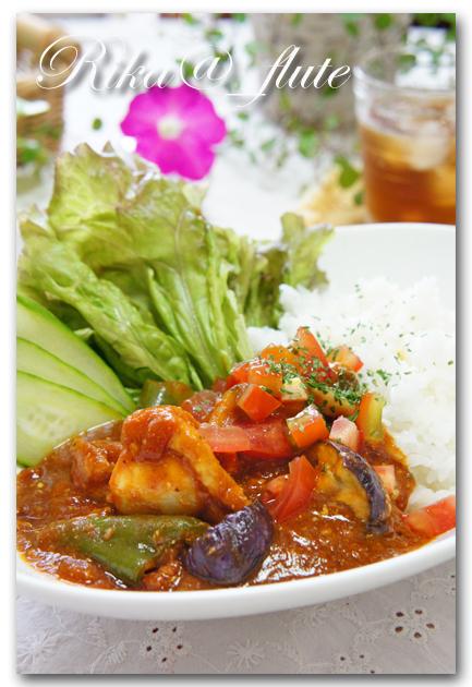 夏野菜ゴロゴロリメイクカレー_c0103827_20105857.jpg