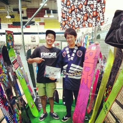 釧路Sports B-INGスノボー展示会_e0173533_11433335.jpg