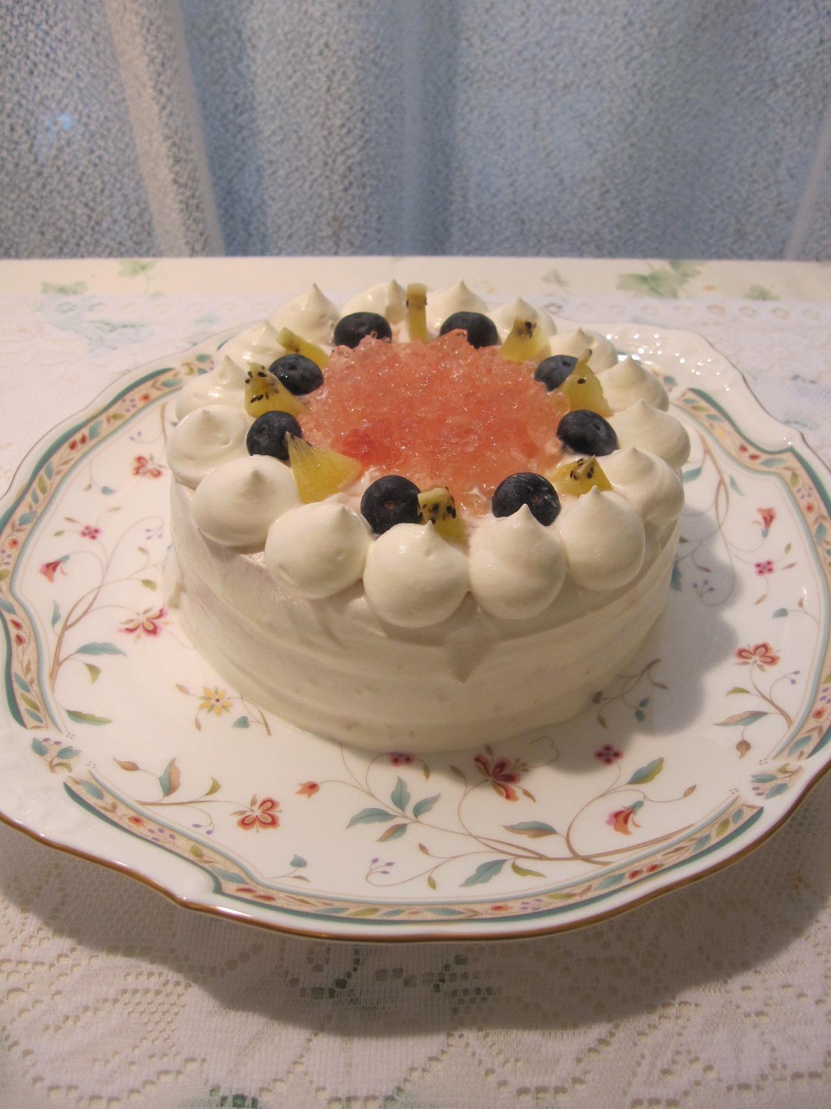 桃のケーキ_e0170734_1854789.jpg