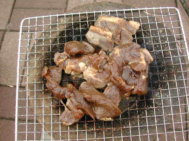 エゾシカ肉BBQ_b0073937_19101445.jpg